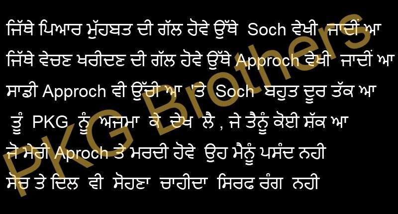 Latest Birthday Wishes For Brother In Punjabi Shayari
