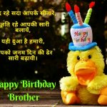 Latest Funniest Birthday Wishes For Brother In Hindi