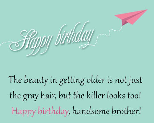 Latest Happy Birthday Wishes For Brother In English Text