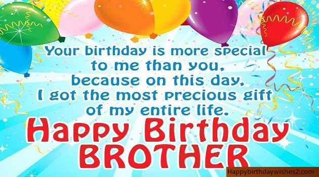 Birthday Wishes For Brother In Hindi English Happy Birthday Day Dear