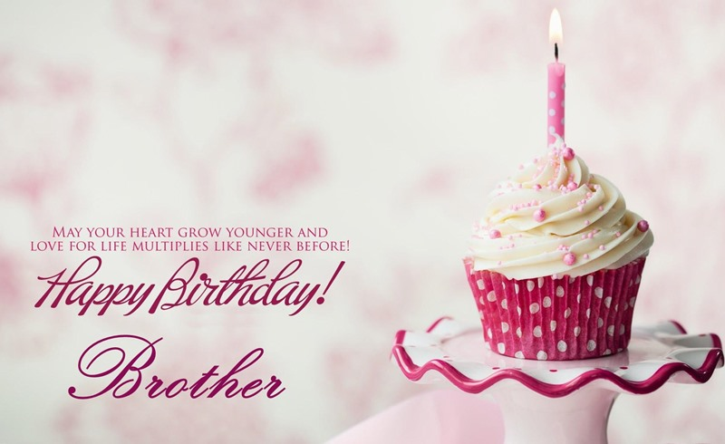 Latest Happy Birthday Wishes For Brother Sms In English