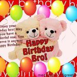 2019 Birthday Wishes Image With Name For Brother