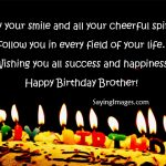 2019 Birthday Wishes Image With Name For Brother Latest