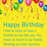 2019 Funny Birthday Wishes For Brother In Law Images Latest