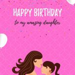 Birthday Messages For Daughter In English