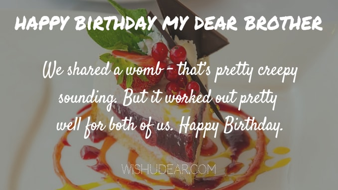 Birthday Wishes For Brother Facebook Status Check