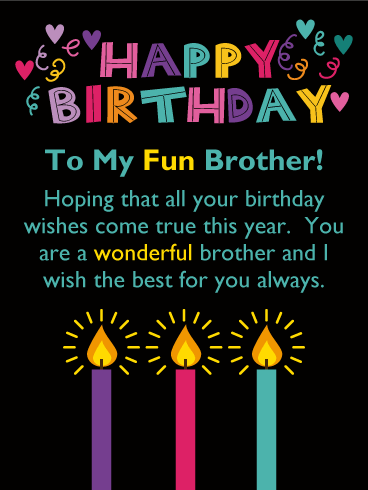 Birthday Wishes For Brother Images In Telugu – Happy
