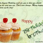 Birthday Wishes For Brother Images Latest