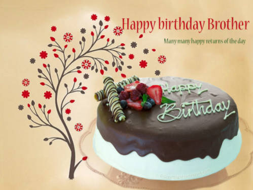 Birthday Wishes For Brother Images With Quotes | Happy