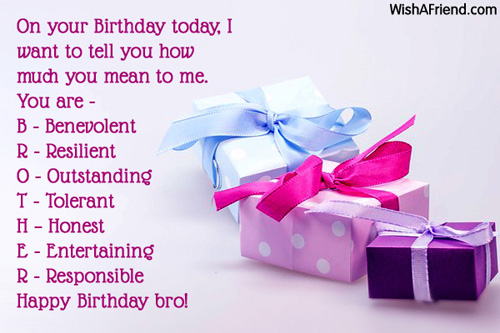 Birthday Wishes For Brother Images With Quotes