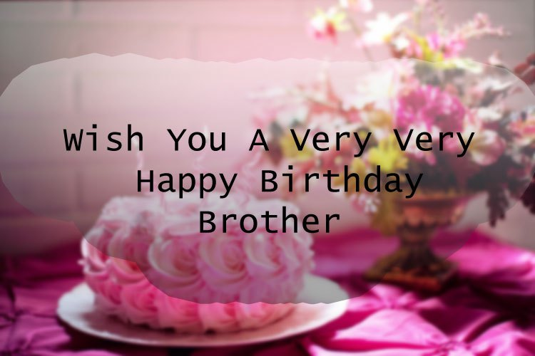 Birthday Wishes For Brother Son