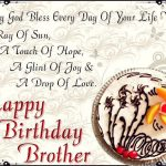 Birthday Wishes For Brother Status Download