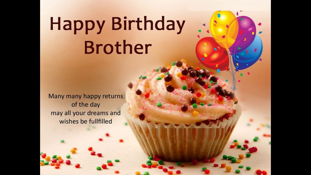 Birthday Wishes For Brother Status Download Free