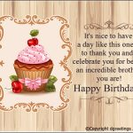 Birthday Wishes For Brother Status For Whatsapp Download