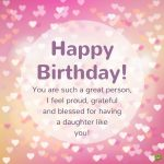 Birthday Wishes For Mom From Daughter In English