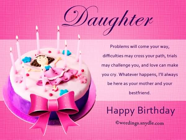 Birthday Wishes For Mom From Daughter In English Language