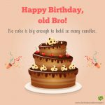 Birthday Wishes Image With Name For Brother