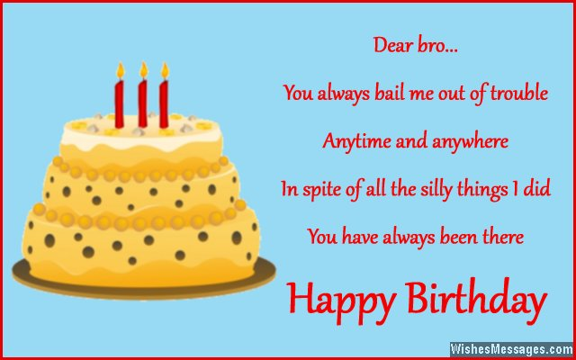 Birthday Wishes Image With Name For Brother 2019