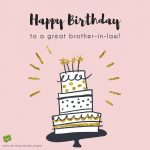 Funny Happy Birthday Wishes For Brother In Law Images
