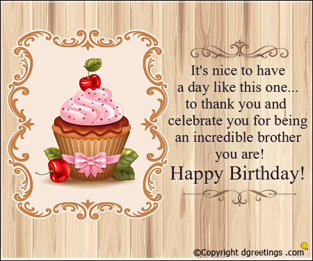 Happy Birthday Wishes For Brother Facebook Status Latest
