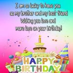 Happy Birthday Wishes For Brother Images Free Download