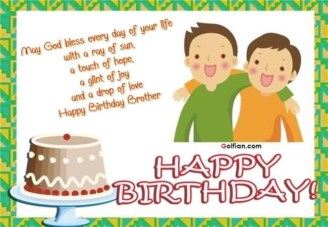 Happy Birthday Wishes For Brother Images Free Download Free