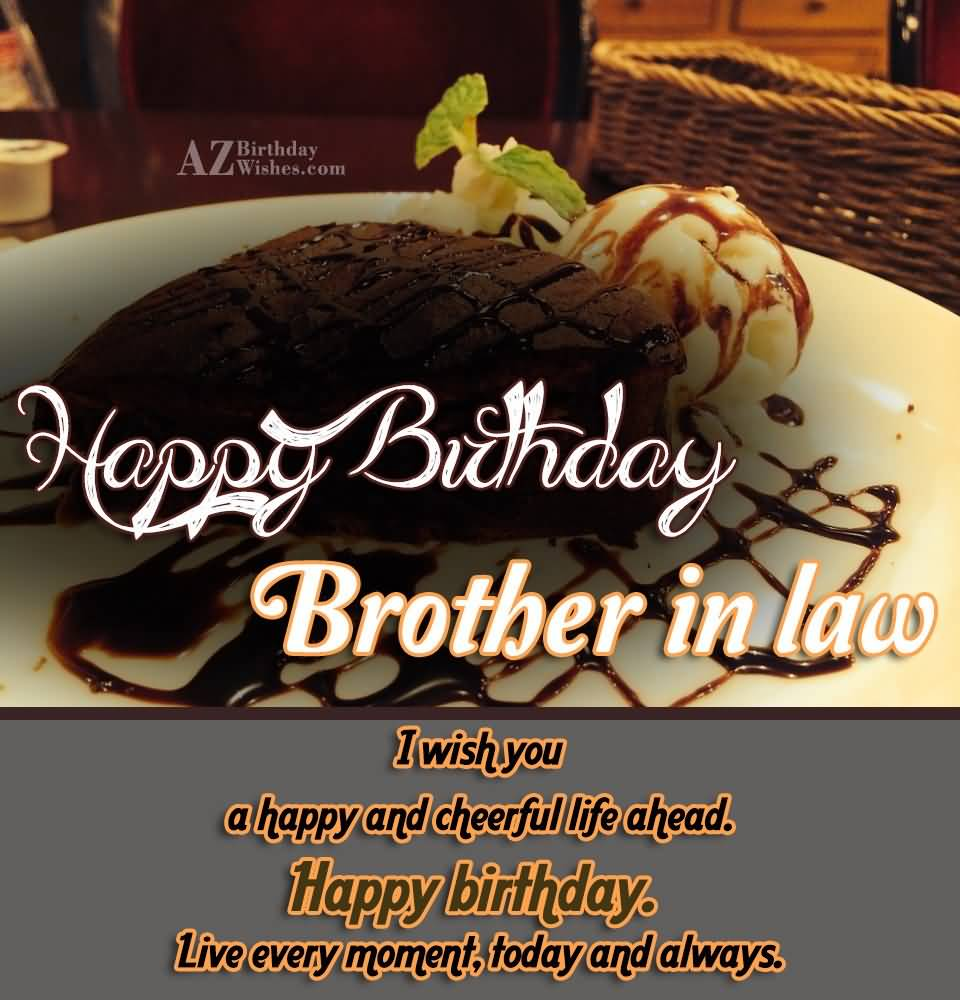Happy Birthday Wishes For Brother In Law Images