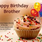 Happy Birthday Wishes For Brother Status