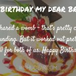 Happy Birthday Wishes For Brother Status Download