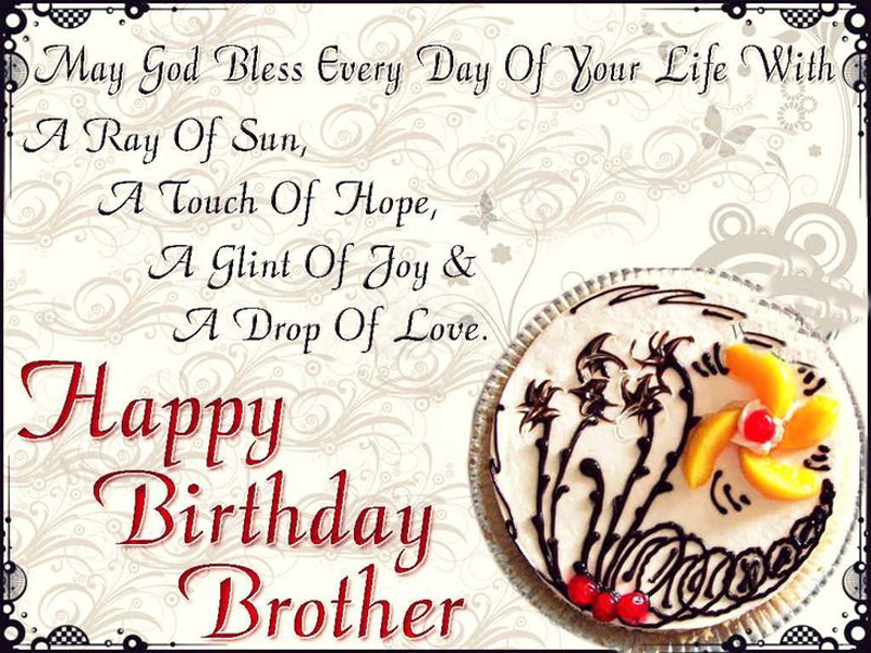 Happy Birthday Wishes For Brother Status For Whatsapp Latest