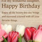 Happy Birthday Wishes For Daughter In English