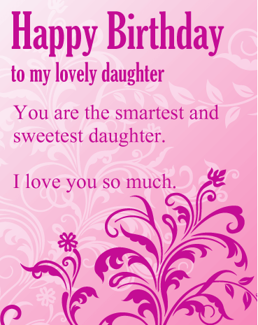 Happy Birthday Wishes For Father From Daughter In English