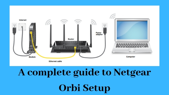 NETGEAR Orbi Instructions to Setup