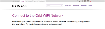 What to do when you can't access orbilogin.net page