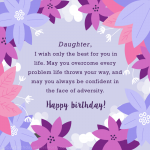 Birthday Wishes For Daughter In English 2019